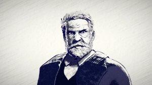 Victor Hugo drawing