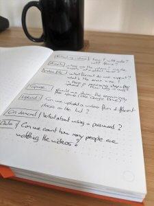 video upload design plan