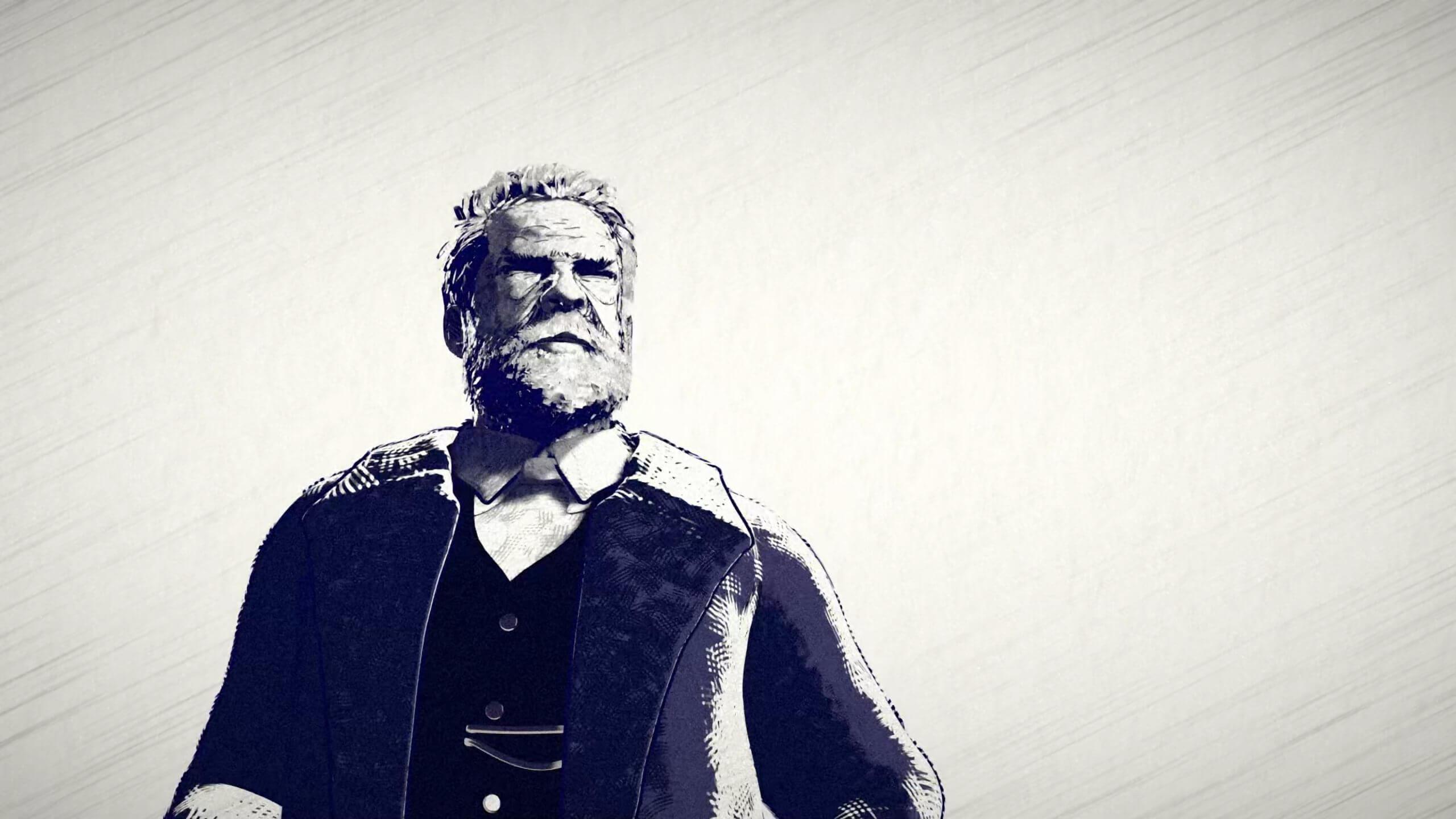 Victor Hugo Standing Portrait