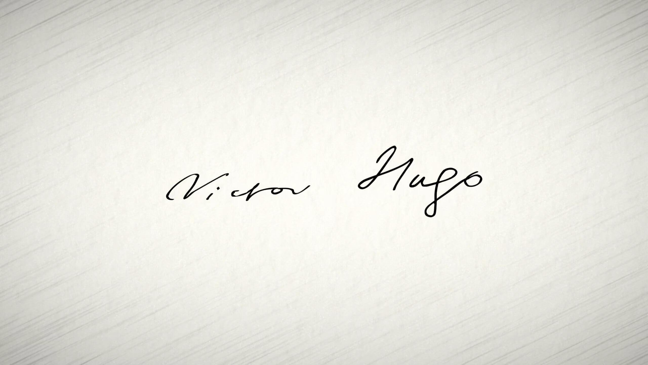 Victor Hugo Signature
