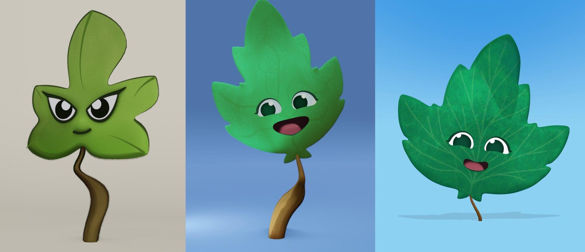 bloo character design