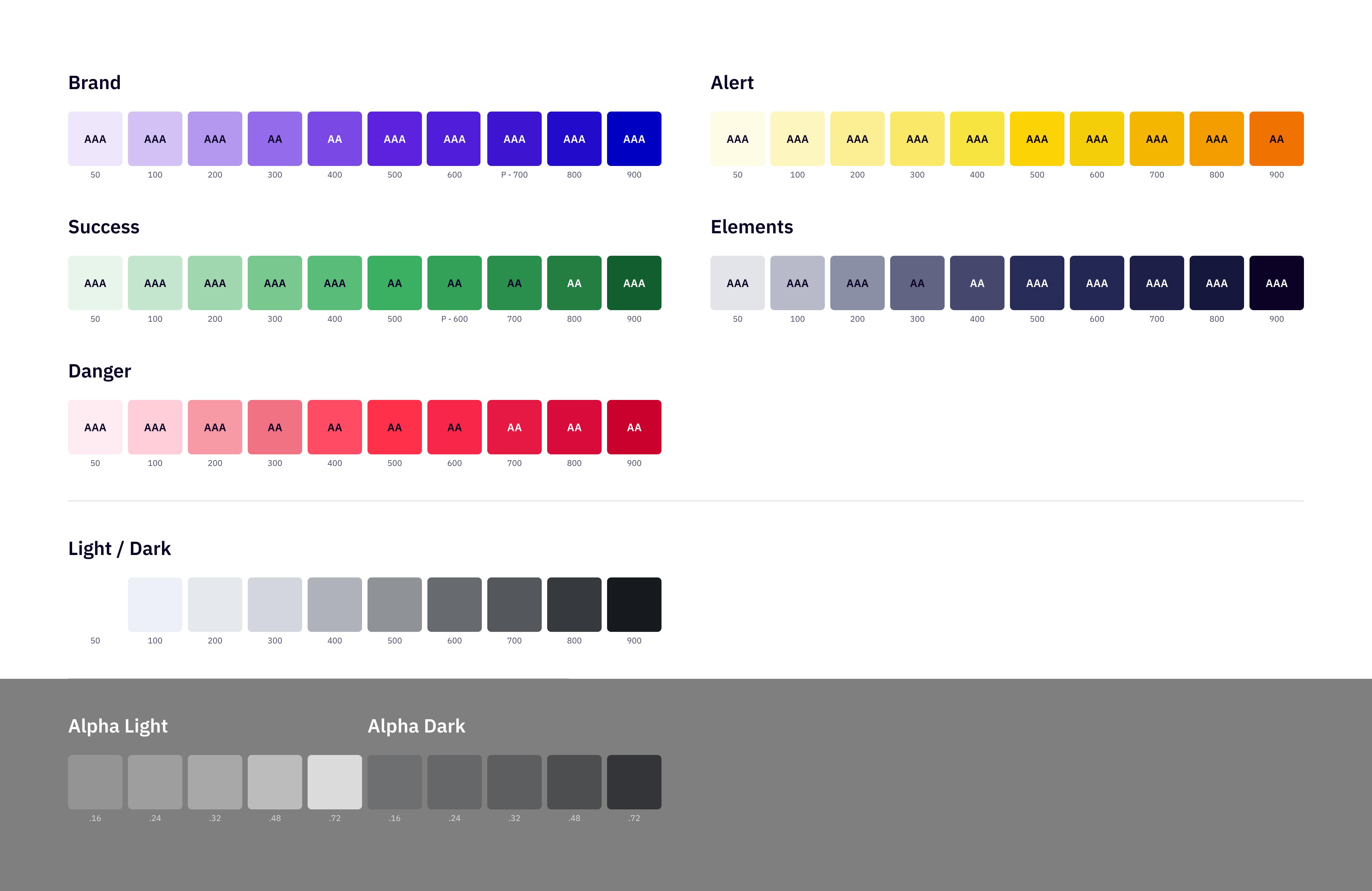 conferize color palette